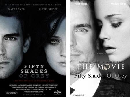 Fifty Shades of Grey マット・ボマーとアレクシス・ブレデル