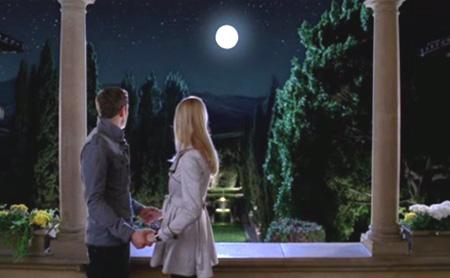 満月の夜にプロポーズ?