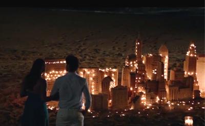 ニールの作った砂の城