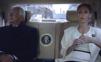 オードリーとヘラー大統領